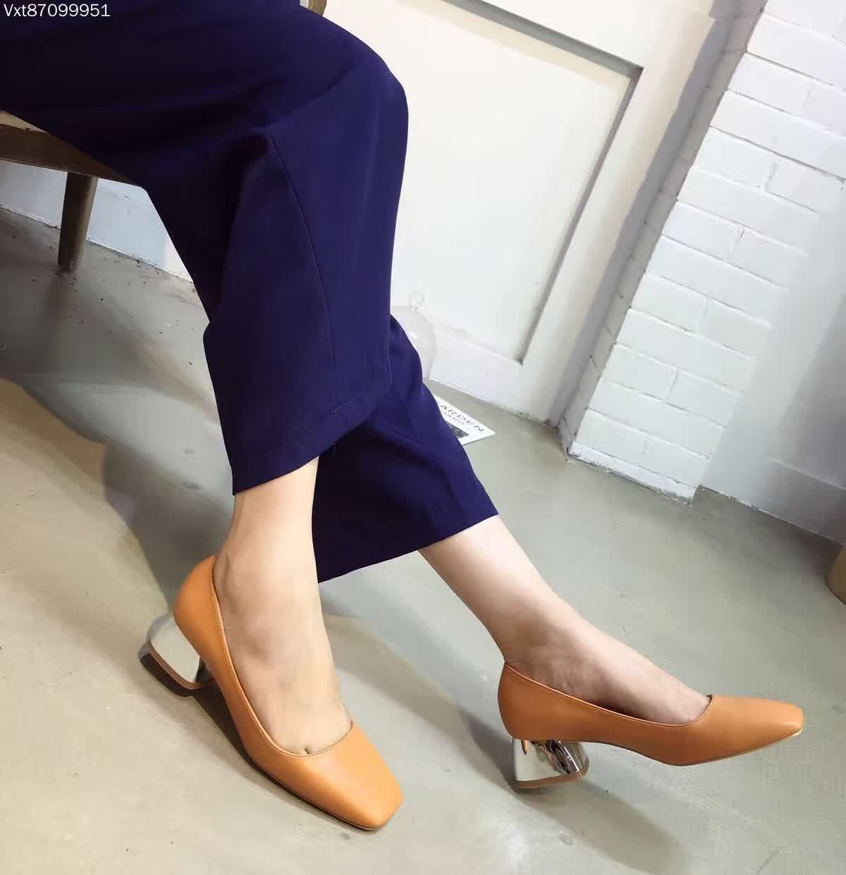 Cheap Thick Heel Pumps