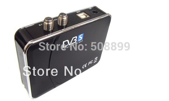 2015 New Digital Satellite DVB-S USB TV Receiver Card Tuner Box Free Shipping&Dropshipping(China (Mainland))