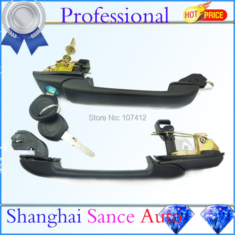 Rear Front Outside Door Handle 1H0837207C For VW Golf GL III TDI Jetta Cabrio GTI VR6 GLX 1993 1994 1995 1996 1997 1998 1999(China (Mainland))
