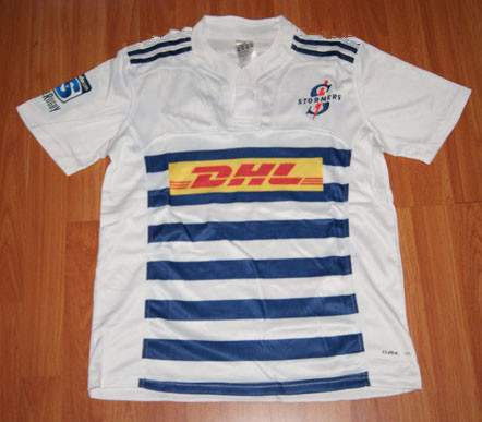 Super 15 Stormers Away Rugby Jerseys Men Rugby Shirt White Original Jersey(China (Mainland))