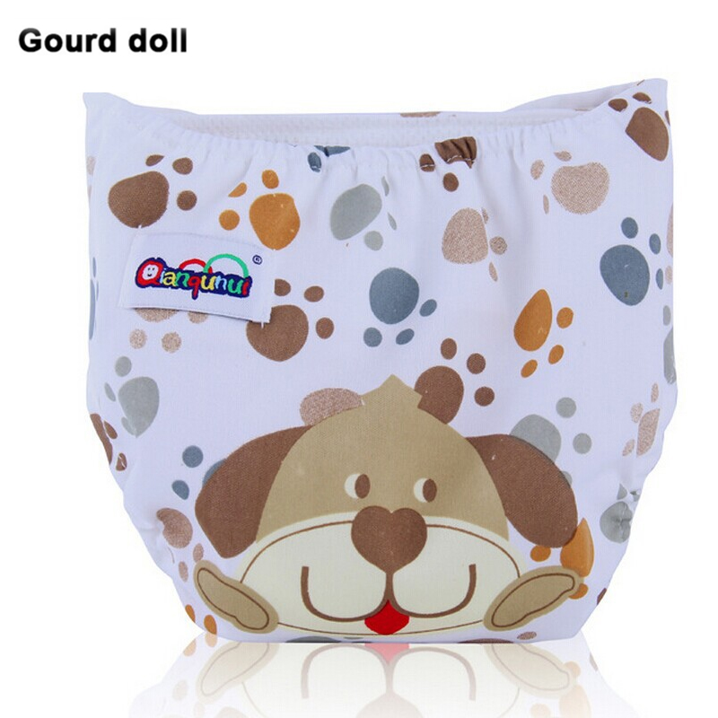 Baby Newborn Diapers Disposable Washable Reusable nappies changing cotton training pant cloth diapers - Gourd doll MamaStory Store store
