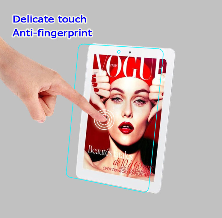 0.26mm 9H 2.5D Tempered Glass film for Teclast P88 8.0 inch Tablet PC Anti-shatter front Screen protector Protective HD lcd film