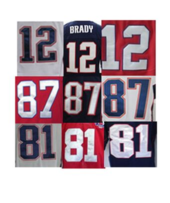 Elite jersey,mens sprots jersey,12 Tom Brady 87 Rob Gronkowski 81 moss,high quality stitched jersey(China (Mainland))