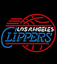 Angelles Clippers Neon Beer Sign Store Display Avize Neon Nikke Air Jorrdan Neon Sign Real Glass Tube Custom Design LOGO 29*24(China (Mainland))