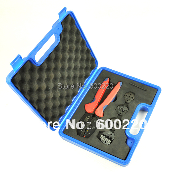 LY03C-5D3 Crimping Tool Kit Combination Tool Sets, terminal crimping tool with replaceable dies<br><br>Aliexpress