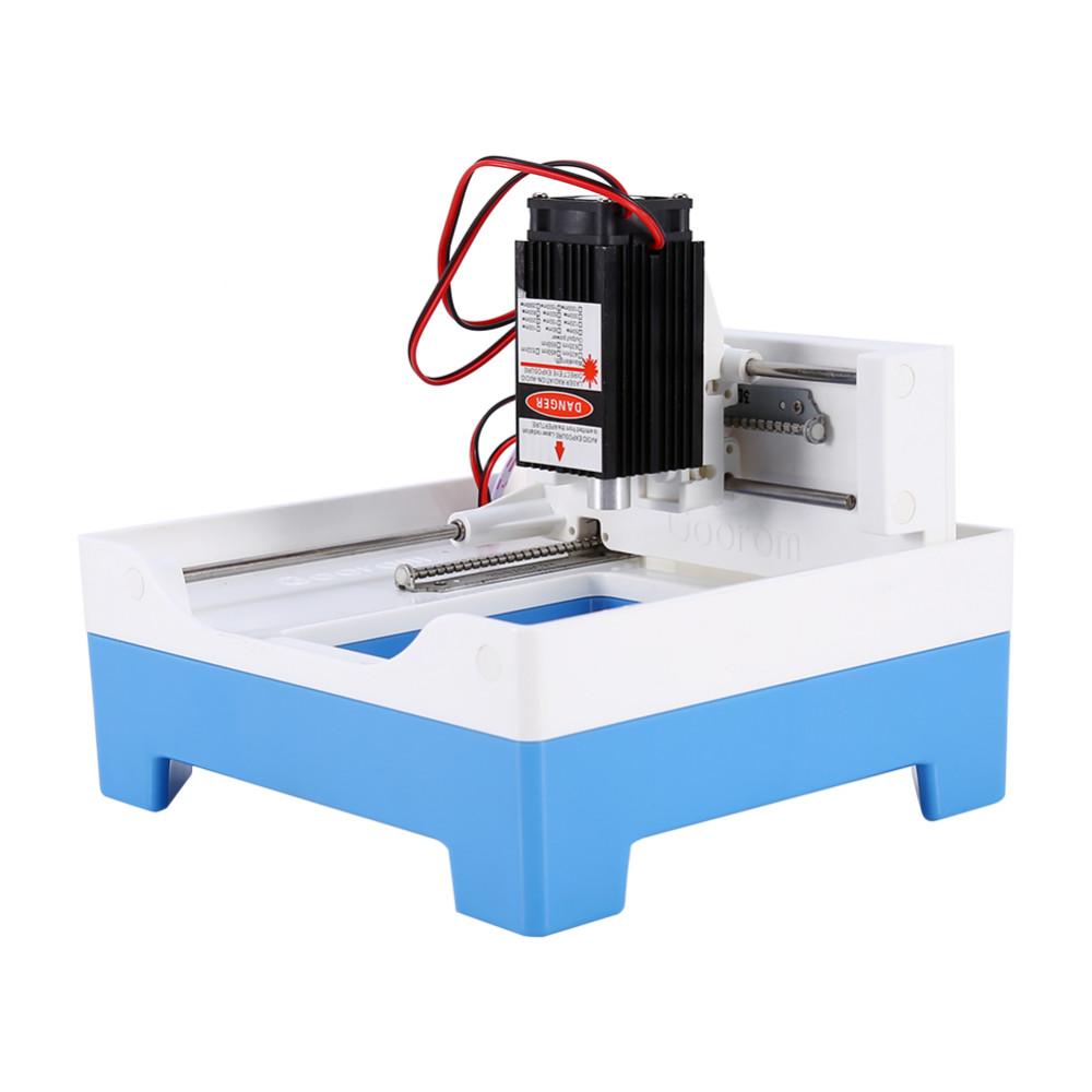 Купить 1000 МВт DIY Лазерный Гравировальный Станок Плоттер Мощная Версия Резные Машина Микро Мини-Гравировальный Станок