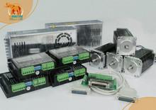 (Nave libre y Sin Impuestos a Los Clientes de LA UE) Wantai Nema 23 Del Motor de Pasos $ number oz-in, 4.2A, 4 Ejes CNC 3D Reprap Impresora WT57STH115-4204A