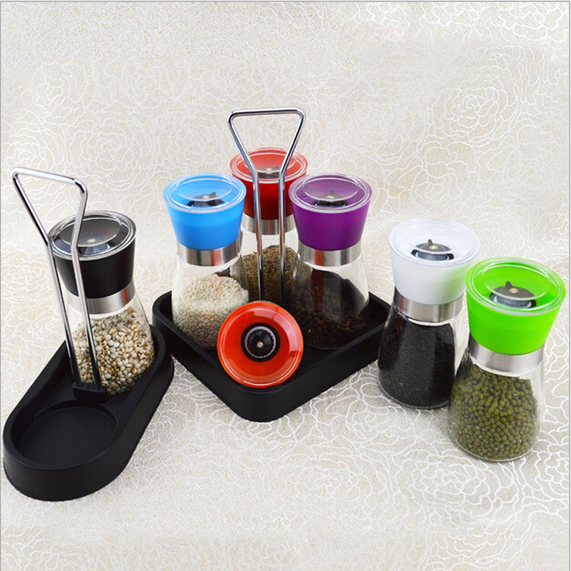Mini Manual Black pepper grinder Chinese prickly ash coffee CG002 - Happy partner store