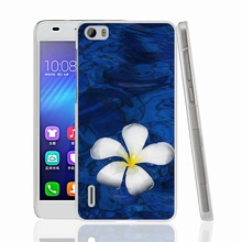 00826 flower white blue Cover phone Case sony xperia z2 z3 z4 z5 mini aqua M4 M5 E4 E5 C4 C5 - Bermuda Triangle Watch Co.,Ltd store