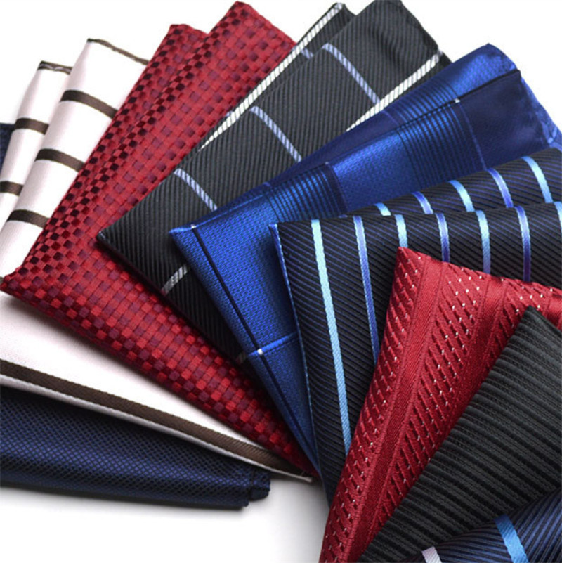Luxury fashion brand men's suits towel Squares/stripes/prints/wedding groom groomsmen British suit pocket towel handkerchief(China (Mainland))
