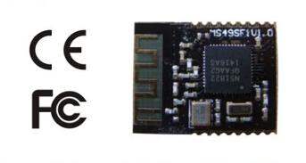 100pcs lot free shipping 32-bit ARM Cortex M0 processor nrf51822(China (Mainland))
