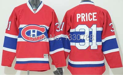 2015 New #31 Carey Price Youth Jersey #67 Max Pacioretty Red Stitched Montreal Canadiens Kids Hockey Jerseys
