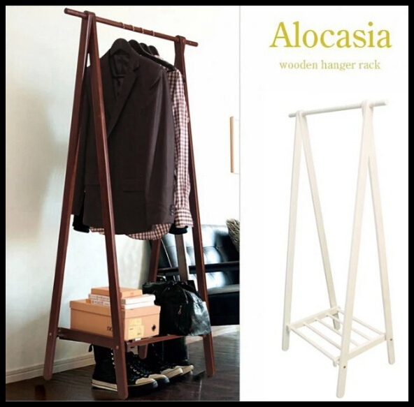 Japanese style coat rack falling real wood coatrack(China (Mainland))