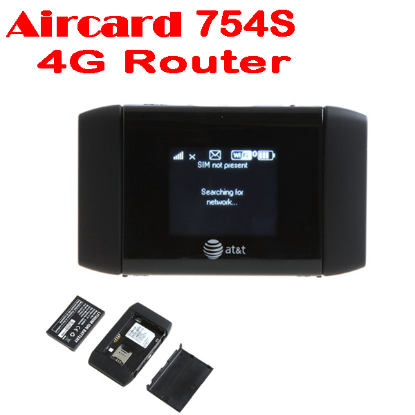 50% shipping fee Aircard 754S AT&T/Sierra Wireless Mobile Hotspot WiFi Elevate 4G MiFi Router(China (Mainland))