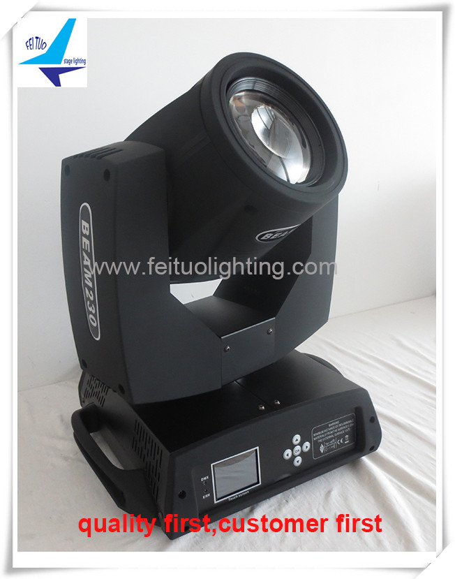 (4/lot) professional stage lighting beam 7r 230w moving head beam 230 used stage light for sale(China (Mainland))