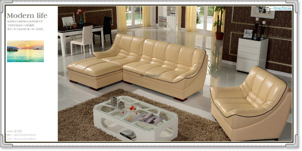 Aliexpress Buy 6158 leather sofa with Chair from