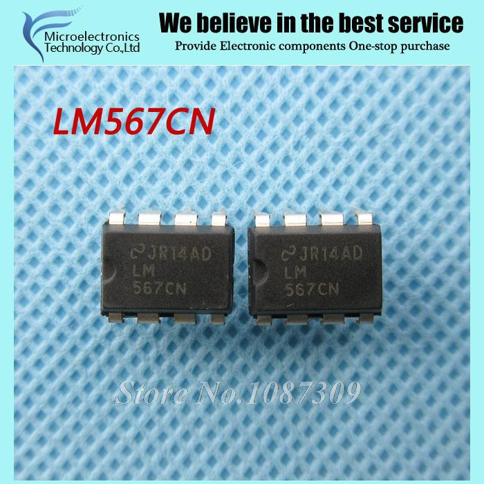 50pcs free shipping LM567CN LM567 Telephone Ringers Tone Decoder 8-PDIP 0 to 70 DIP-8 new original(China (Mainland))
