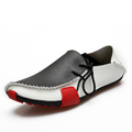 Designer Superstar Men Casual Shoes Outdoor Durable Non slip Driving Lazy Shoes Men Flats Breathable Peas