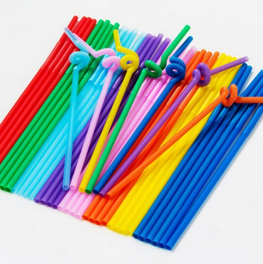 Party accessories novelty drinking straw plastic drinking for Plastic straw art