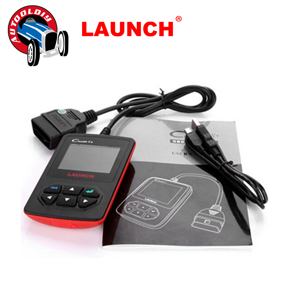 2016 New Released 100% Original Launch Creader V+ OBDII Code Scanner X431 CReader V PLUS Multi-language Creader V Free Shipping(China (Mainland))