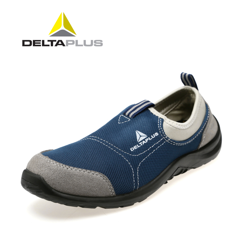 Deltaplus 301215 steel toe puncture proof safety shoes anti-static light breathable summer safety shoes(China (Mainland))