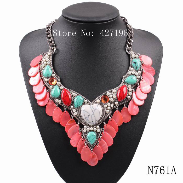 2016 new arrival fashion brand heart pendant necklace for women elegant spring statement pendant party jewelry(China (Mainland))