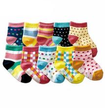 12pairs/lot Kids Socks Baby New Born Boy Girl Casual Winter Meias Infantil Baby Slippers,Anti Slip Socks Floor Children Socks