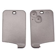 Remplacement 2 bouton voiture à distance Case Shell Key Fob pour Renault Laguna Espace de voiture alarme logement livraison gratuite