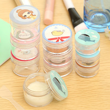 2016 Cosmetic Plastic Storage Bottles points bottling Travel portable cartoon Shedding fibreboard Girls Favorites 1Set (L Size)(China (Mainland))