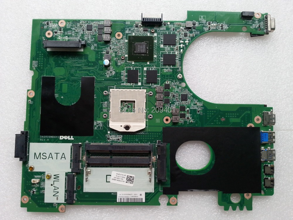 For Dell 7720 N7720 Laptop Motherboard Mainboard DA0R09MB6H1 CN-072P0M 072P0M work well(China (Mainland))
