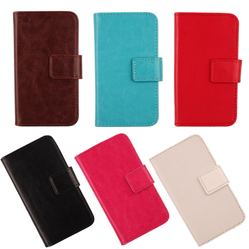 Mobile phone Flip design Accessories Pure color Wallet cover PU leather Full protective case For Utime Smart PDA S38 U100 u100S(China (Mainland))