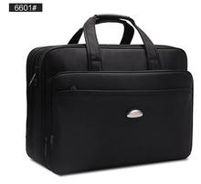 "Top quality 17"" inch laptop bag Men single shoulder big capacity business travel computer bag notebook handbag messenger bag (China (Mainland))"