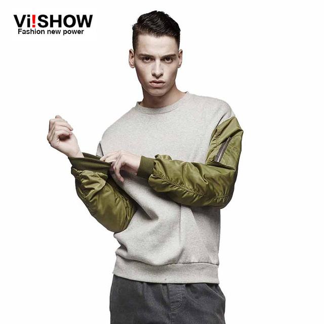 VIISHOW Бренд Европейский Стиль известный бренд моды спортивный костюм мужчины спорт ...