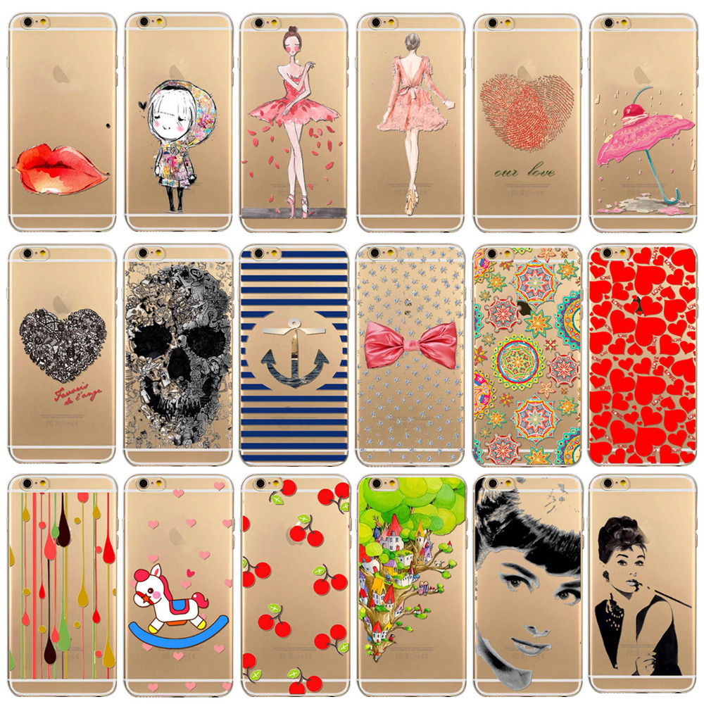 Free shhipping for 4 4s TPU case cover Charming ladies good quality for apple iphne 4 4s Soft Rubber Silicone TPU WHD1284 41-60(China (Mainland))