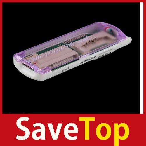 Кардридер USB savetop] 1 SDHC MS 2 TF SD 01 most ms usb