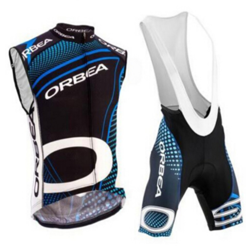 Ropa de ciclismo hombre 2015 cycling jersey bicycle maillot Orbea cycling sleeveless bicycle mountain bike maillot mtb ciclismo(China (Mainland))