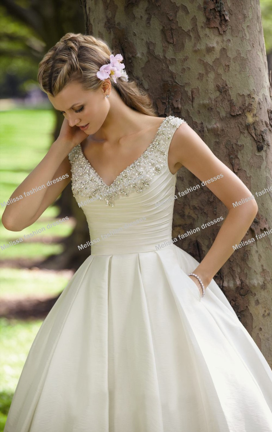 casual cotton beach wedding dresses | Dress images
