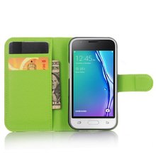 Buy J105 Samsung Galaxy J105F  (2016 J1mini ) Case Flip Leather Lichee Pattern black Cover Wallet Card Stent Cases Covers SM for $4.74 in AliExpress store