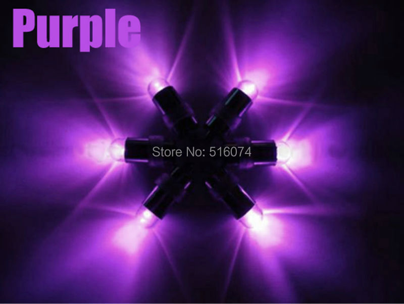 40pcs Purple Waterproof LED Mini Party Lights for Lanterns,Balloons, Floral Mini Led Lights For Wedding decoration(China (Mainland))