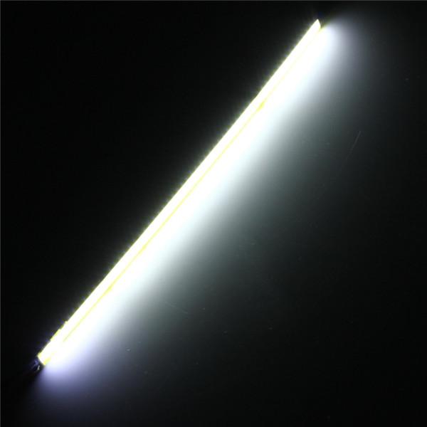 Горячая распродажа 5 Вт COB 60 из светодиодов чип авто вождения DRL дневного света лампы белый 20 см бар газа для DIY белый теплый белый DC12V