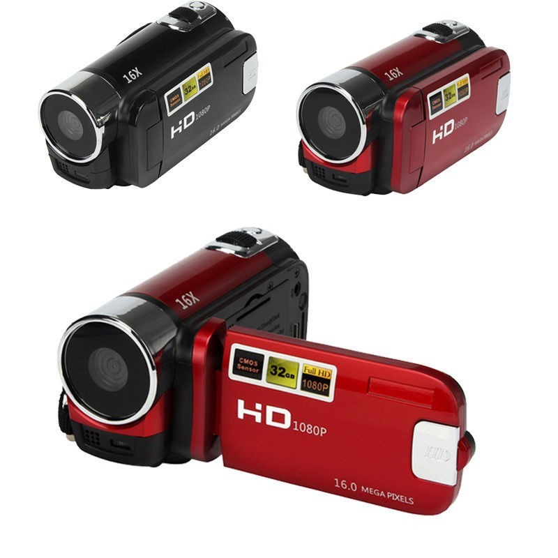 2016 digital video camera 2.4 inch 4Xdigital zoom max 12MP max 270 rotation