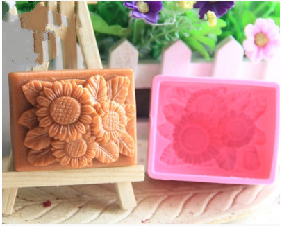 Rectangular Rose Silicone Cake Chocolate Soap Pudding Jelly Candy Ice Cookie Biscuit Mold Mould Pan Bakeware - duanduan yu's store