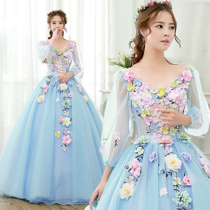 Online Get Cheap Light Blue Wedding Dress Plus Size -Aliexpress ...