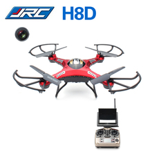JJRC H8D 2.4Ghz Headless Mode One Key Return 5.8G FPV RC Quadcopter Drone with 2MP Camera FPV Monitor LCD Display RTF VS H8C H9D