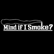Buy Mind If I Smoke Turbo Of Car Styling Window Sticker Vinyl Decal Cool Graphics Decor Jdm for $2.13 in AliExpress store