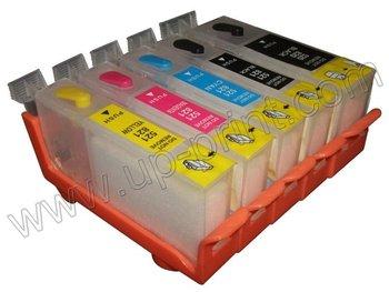 PGI225BK/ CLI226BK w/ ARC chip  10sets /lot refillable Ink cartridge for canon IP4820 MG5120 MG8120 MG6120 free shipping DHL