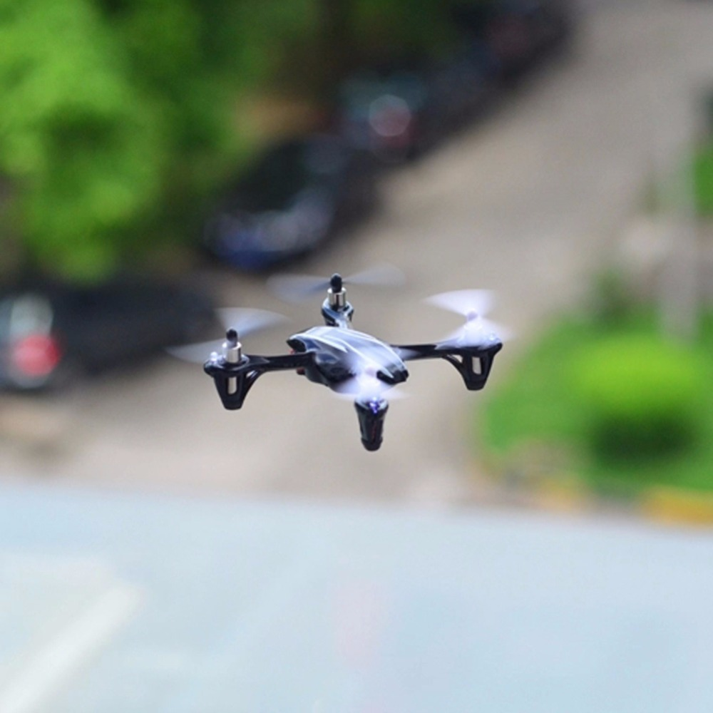 Genuine Hubsan H107 X4 H107L Mini Drone 2 4GHz RC Micro Quadcopter with Gyro RTF