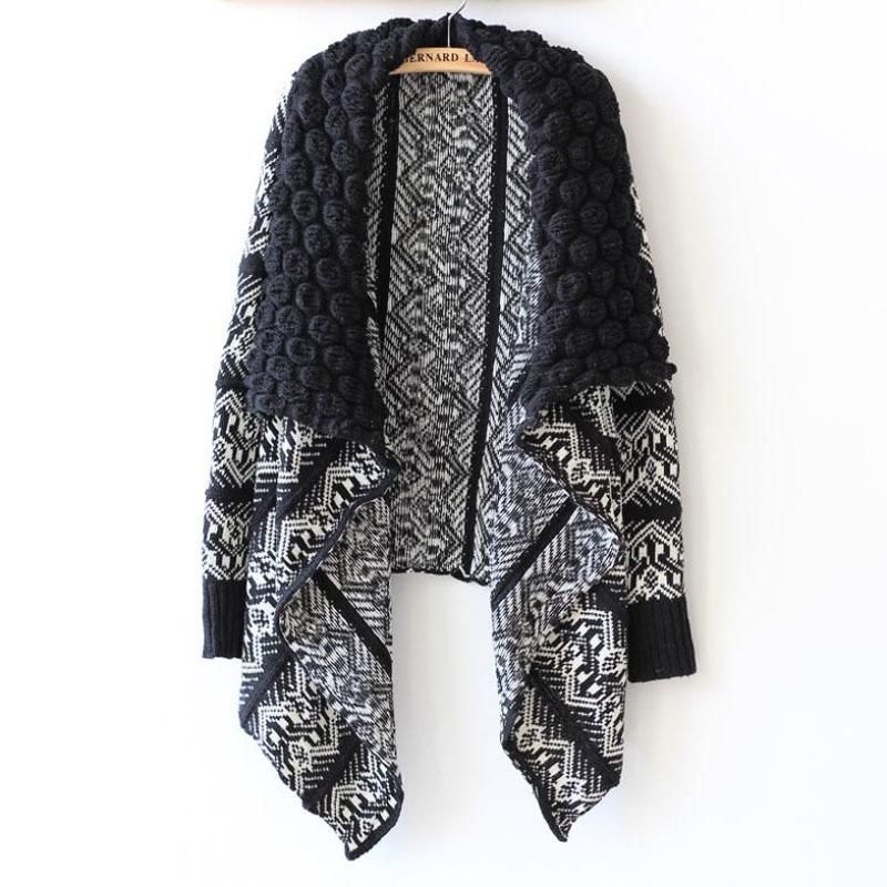 2015 autumn cardigan fashion women sweater women big