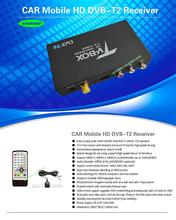 90km/h one Antenna Car DVB T2 Mobile Digital TV Box External USB DVB-T2 Car TV Receiver Russian Europe  Asia 3pcs/lot P008(China (Mainland))