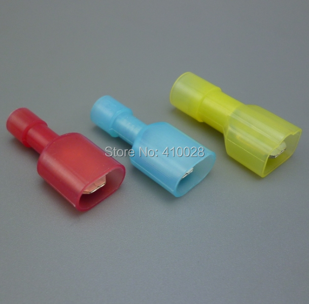2000pcs yellow blue red 0.5mm-6.0mm Terminals Crimp Electrical Car Audio 22-10AWG(China (Mainland))